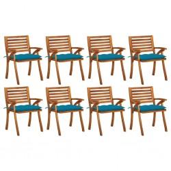 vidaXL Mesitas de noche con 1 cajón de madera de sheesham 2 uds 55 cm