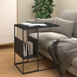 vidaXL Alfombra de retazos de cuero 80x150 cm cuadrados marrón/blanco