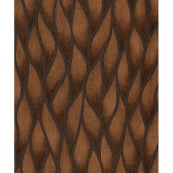 vidaXL Alfombra de retazos de cuero 120x170 cm cuadrados marrón/blanco