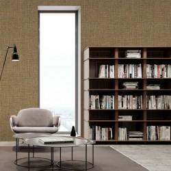 vidaXL Alfombra de retazos de cuero 160x230 cm cuadrados marrón/blanco