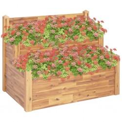 vidaXL Mesa plegable de masaje 10 cm grosor 2 cojines ovalados blanco