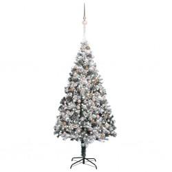 vidaXL Alfombra de retazos de cuero 120x170 cm cuadrados negro/blanco