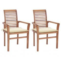 vidaXL Carpa de jardín de PVC 4x4 m azul y blanco