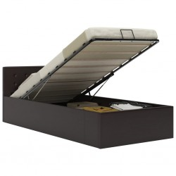 vidaXL Mueble para TV aglomerado roble y blanco con brillo 2 piezas