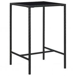 vidaXL Alfombra de entrada rectangular de nudo 60x90 cm roja