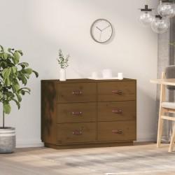vidaXL Alfombra de entrada rectangular de nudo 80x120 cm azul