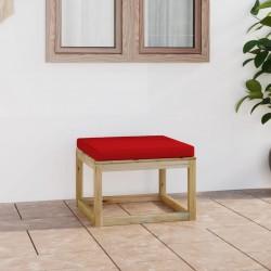 vidaXL Sofás de jardín de palés 2 uds cojines grises madera pino