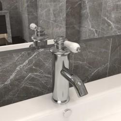 vidaXL Inodoro suspendido de pared con cisterna oculta cerámica blanco