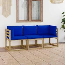 vidaXL Asientos de inodoro con tapas cierre fuerte 2 uds MDF piedras