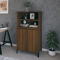 vidaXL Barra de seguridad para cama de niño 2 unidades azul 102x42 cm