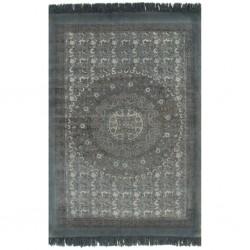 vidaXL Comedor de jardín 9 piezas plástico con aspecto de ratán blanco
