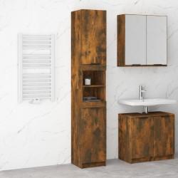 vidaXL Cama con colchón viscoelástico tela marrón 140x200 cm