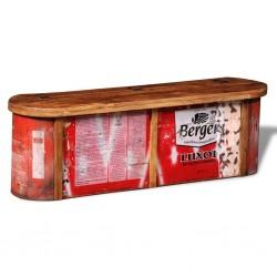 vidaXL Lámparas solares LED de exterior 4 uds. cúbicas 20 cm RGB