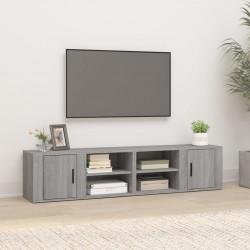 vidaXL Cama con colchón cuero sintético negro 90x200 cm