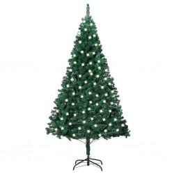 vidaXL Cama con colchón cuero sintético negro 140x200 cm
