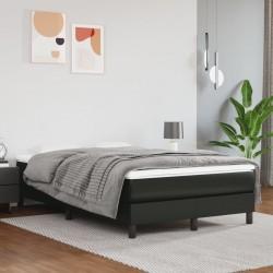 vidaXL Cama con colchón tela beige 90x200 cm