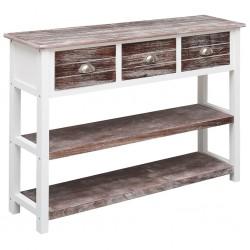 vidaXL Cama con colchón tela beige 120x200 cm