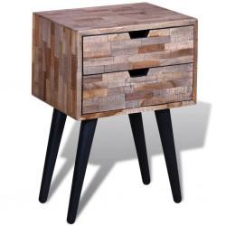 vidaXL Cama con colchón viscoelástico tela gris oscuro 160x200 cm