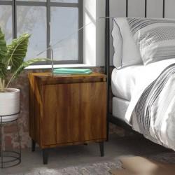 vidaXL Cama con colchón viscoelástico tela gris claro 160x200 cm