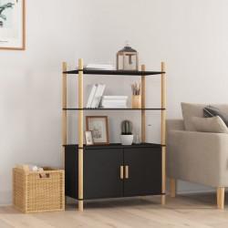 vidaXL Cama con colchón viscoelástico tela verde 90x200 cm