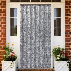 vidaXL Cama con colchón viscoelástico tela gris topo 120x200 cm