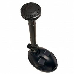 vidaXL Cama con colchón piel de ante artificial marrón 140x200 cm