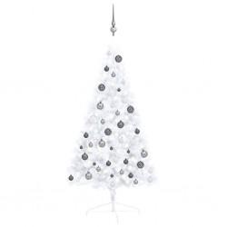 vidaXL Cama con colchón piel de ante sintética marrón 180x200 cm
