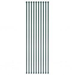 vidaXL Juego de alfombrillas para coche 4 piezas para Volvo S40/V50/C70