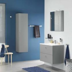 vidaXL Sofá de palés para jardín de 2 plazas madera natural