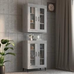 vidaXL Cama con colchón viscoelástico cuero sintético 180x200 cm