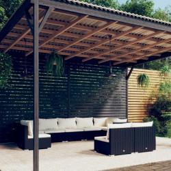 vidaXL Cama y colchón viscoelástico cuero sintético blanco 120x200 cm
