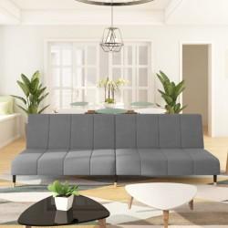 vidaXL Cama con colchón viscoelástico cuero sintético negro 120x200 cm