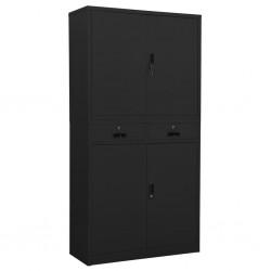 vidaXL Cama con colchón viscoelástico cuero sintético gris 90x200 cm