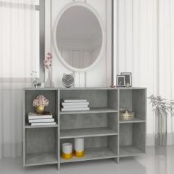 vidaXL Cama con colchón viscoelástico cuero sintético gris 120x200 cm
