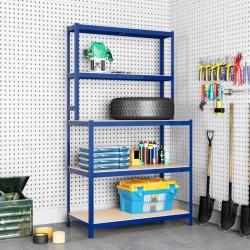 vidaXL Cama con colchón viscoelástico cuero sintético gris 160x200 cm