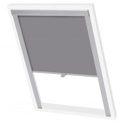 vidaXL Cama con colchón cuero sintético gris 120x200 cm