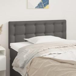 vidaXL Cama con colchón tela azul 160x200 cm