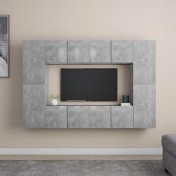 vidaXL Cama con colchón viscoelástico terciopelo azul 140x200 cm