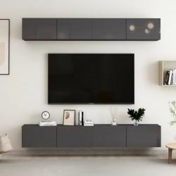 vidaXL Cama con colchón de terciopelo azul 90x200 cm
