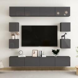 vidaXL Cama con colchón de terciopelo azul 120x200 cm
