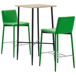 vidaXL Cama con LED y colchón viscoelástico tela gris claro 180x200 cm
