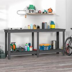 vidaXL Cama con LED y colchón viscoelástico tela azul 160x200 cm