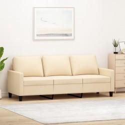 vidaXL Cama con LED y colchón viscoelástico tela verde 160x200 cm
