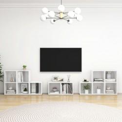 vidaXL Cama con LED y colchón tela gris claro 160x200 cm