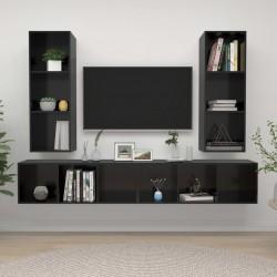 vidaXL Lámparas de araña de cristal 2 unidades blanco elegante