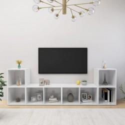 vidaXL Lámparas de espejo 2 unidades luz blanco frío