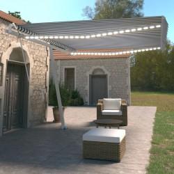 vidaXL Mantel elástico para mesa alta 4 unidades blanco Ø60 cm