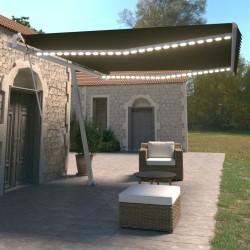 vidaXL Mantel elástico para mesa alta 4 unidades blanco Ø70 cm