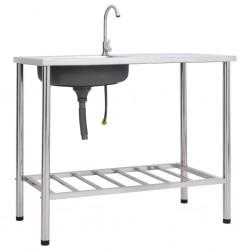 vidaXL Mantel elástico para mesa alta 4 unidades blanco Ø80 cm