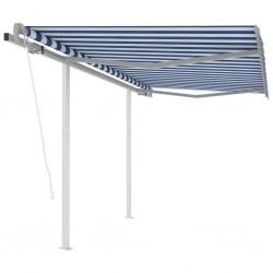 vidaXL Funda elástica para mesa 4 unidades 80 cm verde